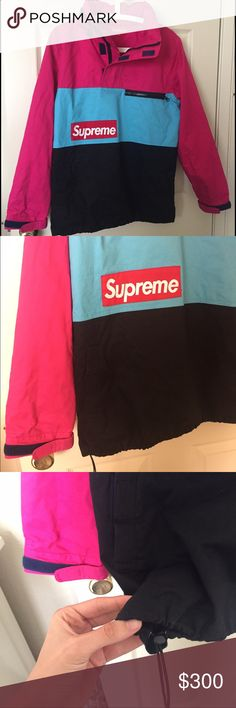 Supreme F-1 Pullover Windbreaker Jacket Medium hello, for sale i have a Supreme F-1 pullover from their spring-summer 2014 line. it has been used a few times but is in good condition with no flaws. this is extremely rare and i've only seen the green one sold on eBay. make me a fair offer Supreme Tops Sweatshirts & Hoodies