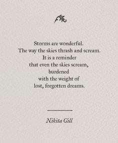I love storms.... its a reminder that even skies screams sometimes.. though holding entire universe within it..