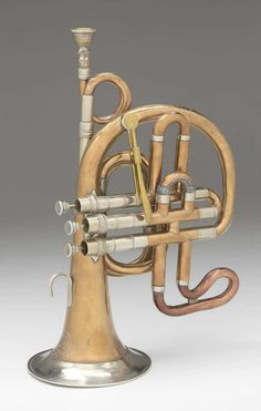 Cornet about 1840 William Grayson (active before Object Place: London, England Brass Musical Instruments, Brass Instrument, Trombone, French Horn, Brass Band, Museum Of Fine Arts, Music Stuff, Piano, Electric Guitars