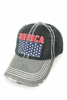 Merica  Baseball Cap Cool Baseball Caps 1acbc29cecba