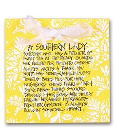 Look what I found on #zulily! 'A Southern Lady' Wood Plaque #zulilyfinds