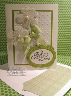Whisper White, Pear Pizzazz with Vellum embossed Flower Shop, from Gretchen Barron 04_21_14_green_ (1)