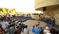 Outdoor Ampitheater   National Museum of the American Indian Capacity: 100