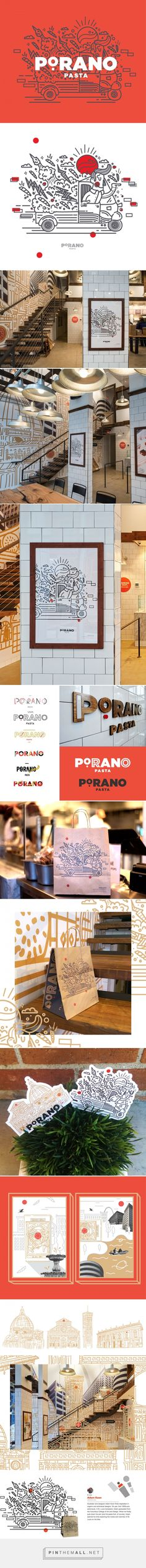 Porano on Behance - created via https://pinthemall.net