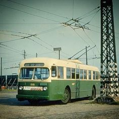 PTC ACF Brill trackless trolley at Southern Depot Phila 1959 Adirondack Park, Bus Terminal, Red Arrow, Busses, Bus Stop, Philadelphia, Transportation, Tourism, Public