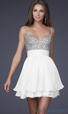 I love this dress for the reception, although I wish the bottom part was a little bit longer.