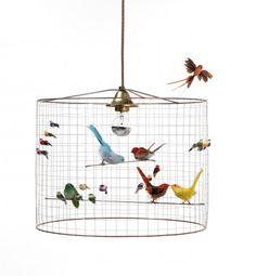 Bird Cage Chandelier by I Love Retro