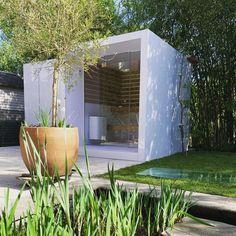 backyard design – Gardening Tips Modern Saunas, Sauna Shower, Sauna House, Outdoor Sauna, Sauna Design, Micro House, Dome House, Infrared Sauna, Home Spa