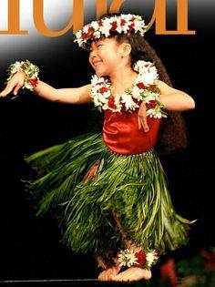Keiki hula, made me think of Lilo and Stitch :)
