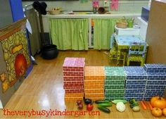 dramatic play area monthly ideas