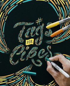 """WEBSTA @ goodtype - Up next for today's #Hashtag #GoodtypeTuesday is """"Tags for Likes"""" by @stefankunz. A hashtag that was never his favorite. #️⃣🤔. . . #️⃣hashtag! Letter your favorite or least favorite #hashtag in any style. Tag us and hashtag it #GoodtypeTuesday. Let's see 'em! 👀 . . .As always, we will repost some of our favorites. And remember, this is all for the fun, encouragement and practice of lettering. Only positive comments and constructive feedback welcome. Multiple entries…"""
