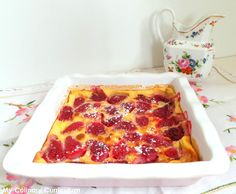 My Culinary Curriculum: Clafoutis aux fraises (Strawberry Clafoutis)