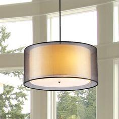 Sonneman Lighting Puri 3-light Drum Pendant | Overstock.com Shopping - The Best Deals on Chandeliers & Pendants