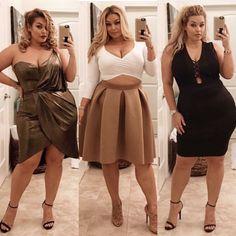 Resultado de imagem para Plus Size Model Laura Lee Curvy Outfits, Mode Outfits, Fashion Outfits, Fashionable Outfits, Fashion Clothes, Girl Outfits, Look Plus Size, Plus Size Model, Curvy Girl Fashion