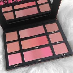 Have you tried the new @chichicosmeticsofficial Ombré Blush Palette? Review on my blog now!! Link in my bio  #immaculateombreblush #blushpalette #chichicosmetics