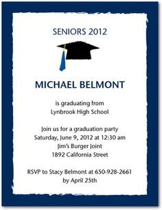 29 best graduation party invitations images on pinterest grad cheap and easy graduation invitations and thank yous filmwisefo