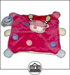 Doudou plana rosa muñeca niña mariquita lunares-MGM Dodo de amor 7835  ✿ Regalos para recién nacidos - Bebes ✿ ▬► Ver oferta: http://comprar.io/goto/B01DUY1PII