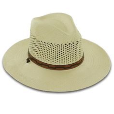 577b644f8f1 Stetson Airway Chin Strap Vent Panama - Bill the HatterGenuine Panama Straw  Ventilated 4 1 4″ Crown 3 1 4″ Brim Inserts to Protect Straw Leather Chin  Strap ...