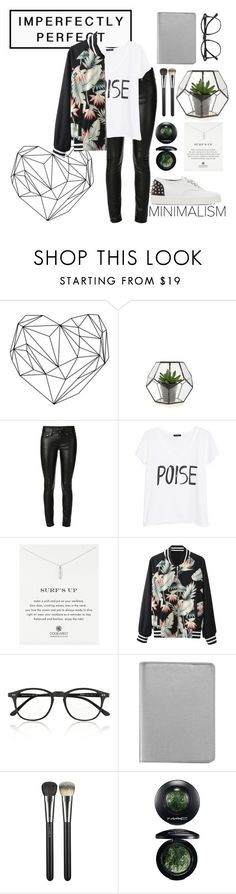 """""""Plants"""" by obrien91 ❤ liked on Polyvore featuring Yves Saint Laurent, MANGO, Dogeared, Illesteva, Graphic Image, MAC Cosmetics and Giuseppe Zanotti"""