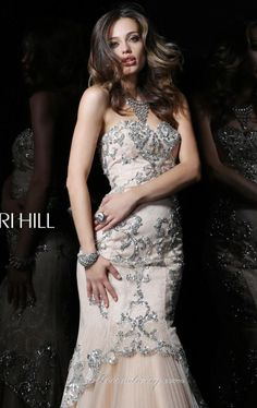 Sherri Hill 21058 by Sherri Hill  650 in blue and pink