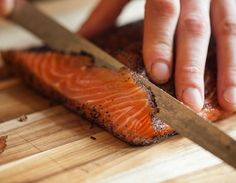 Smoky Tea-Cured Salmon Two Ways from the Tasting Table Test Kitch Salmon Recipes, Fish Recipes, Seafood Recipes, Chicken Recipes, Chef Recipes, Cooking Recipes, Healthy Recipes, Lapsang Souchong Tea, Smoked Fish