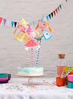 Mini Luftballllons - Puppen // Balloon Puppets #luftballon #partydeko