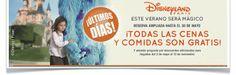 """#Disney #comidasgratis #vuelosgratis #descuentos  Reserva Online: http://campuvic.traveltool.es/disney/index.aspx  ACABA MAÑANA 30 DE MAYO: """"Este Verano será Mágico"""" ¡Todas las comidas y cenas son gratis! , válida para llegadas hasta el 12 de Noviembre de 2014(excepto llegadas del 25 al 30 de mayo) en hoteles Disney."""