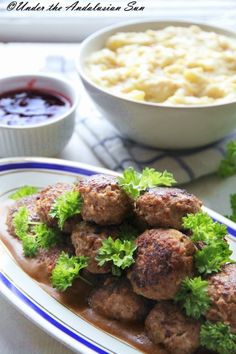 Swedish meatballs (why, WHY are they called that?)  - dish full of nostalgia and grandmaternal love <3