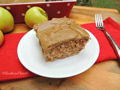 Mama Reed's Caramel Apple Cake ~ http://www.southernplate.com