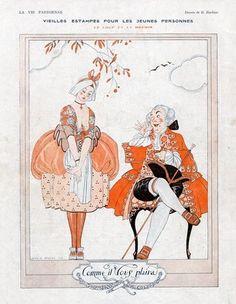 La Vie Parisienne, 1919 ~ George Barbier