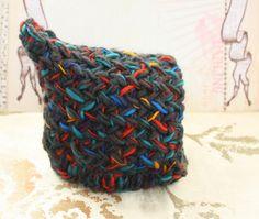 Pixie Knit Baby Hat.