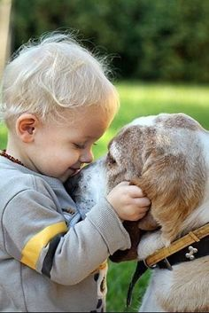 Cute friends! | kids with pets | | pets | | kids | #pets https://biopop.com/