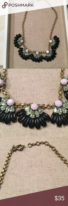 J. Crew statement necklace J. Crew statement necklace. 21 inches long. Excellent condition! J. Crew Jewelry Necklaces