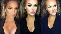 ♡Khloe Kardashian Inspired Makeup look♡