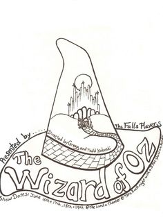 @A isforAfroWizard of oz coloring pages free - Coloring Pages & Pictures - IMAGIXS