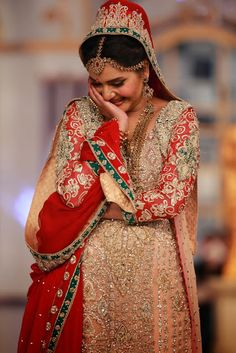 Shazia Kiyani - Pakistani Bridal Fashion PBCW 2013 Lahore