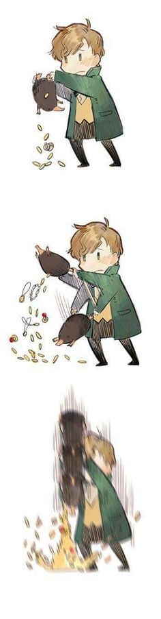 Fantastic Beasts and Where to Find Them. <3