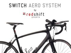 Quick-Release Aerobars + Dual-Position Seatpost: Switch back and forth on-the-fly between a road position and an aero position.