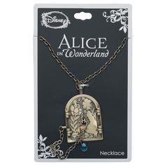 Disney Alice in Wonderland Curiouser Door Necklace Disney Princess Jewelry, Disney Jewelry, Disney Princess Dresses, Kawaii Jewelry, Cute Jewelry, Disney Inspired Outfits, Disney Style, Cute Disney, Alice Disney