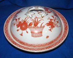 Royal Crown Derby china Chandos pattern muffin dish