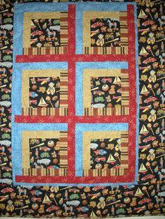 Nico's quilt by grandmahello, via Flickr