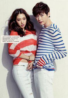 Park Shin Hye and Lee Jong Suk - Jambangee