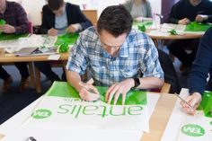 Antalis workshop Paper Shopping Bag, Plastic Cutting Board, Workshop, Entertaining, Atelier, Funny