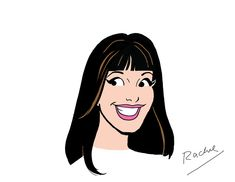 """The """"Glee"""" Cast Gets Their Archie Makeover - Rachel"""