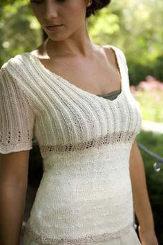 Ravelry: Vintage Lingerie Top pattern by Michele Rose Orne