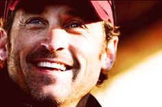 Actor Patrick Dempsey smiles from stage during The Dempsey Challenge opening ceremonies in Lewiston, Maine, on Saturday, Oct. Greys Anatomy Characters, Derek Shepherd, Patrick Dempsey, Diane Lane, Matthew Mcconaughey, Latest Pics, Celebrity Pictures, Actors & Actresses, Sisters