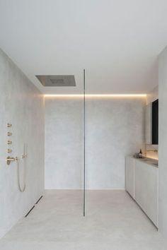 Home Interior Design .Home Interior Design Minimalist Bathroom, Minimalist Home, Minimalist Interior, Interior Modern, Home Interior Design, Interior Ideas, Douche Design, Mawa Design, Tadelakt