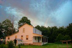 Beautiful Amish farmhouse photo