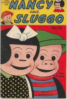 Nancy & Sluggo comic book 1948   Ernie Bushmiller