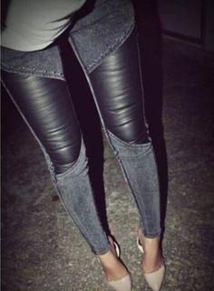 SEXY BLACK LONG PANTS